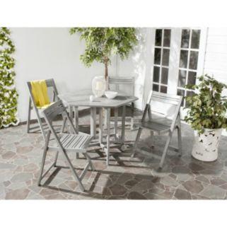 Safavieh 5-piece Kerman Outdoor Table Set