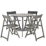 Safavieh 5 pc Kerman Outdoor Table Set