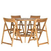 Safavieh 5-piece Kerman Outdoor Table Set