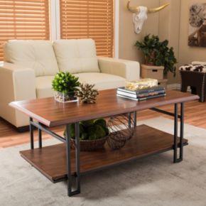 Baxton Studio Newcastle Coffee Table