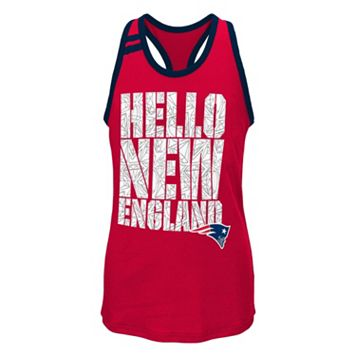 Girls 7-16 New England Patriots Princess-Cut Tank