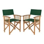 Safavieh 2-piece Laguna Director Chair Set