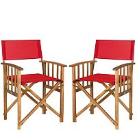 Safavieh 2 pc Laguna Director Chair Set