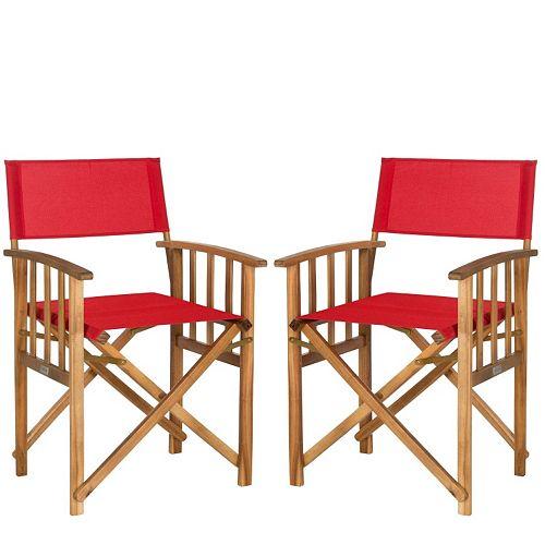 Safavieh 2-piece Laguna Director Chair Set
