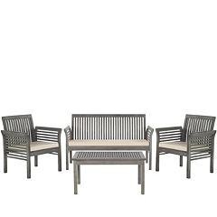 Safavieh Carson 4 pc Outdoor Set