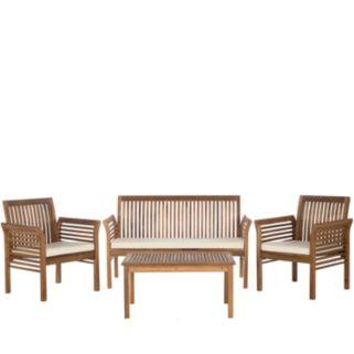 Safavieh Carson 4-piece Outdoor Set