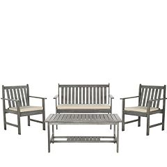 Safavieh Burbank 4 pc Outdoor Set
