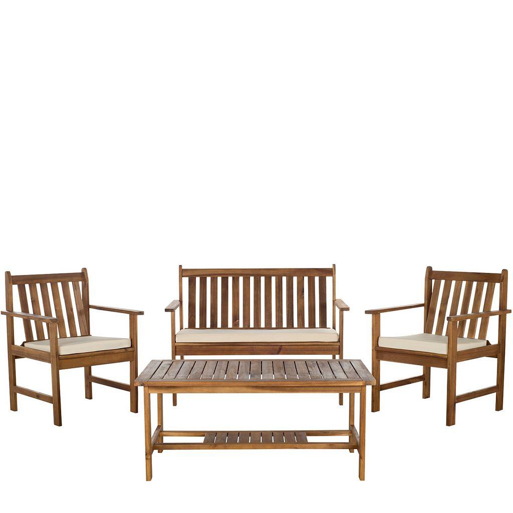 Safavieh Burbank 4-piece Outdoor Set
