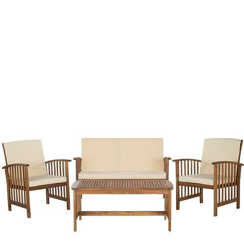 Safavieh Rocklin 4-piece Outdoor Set