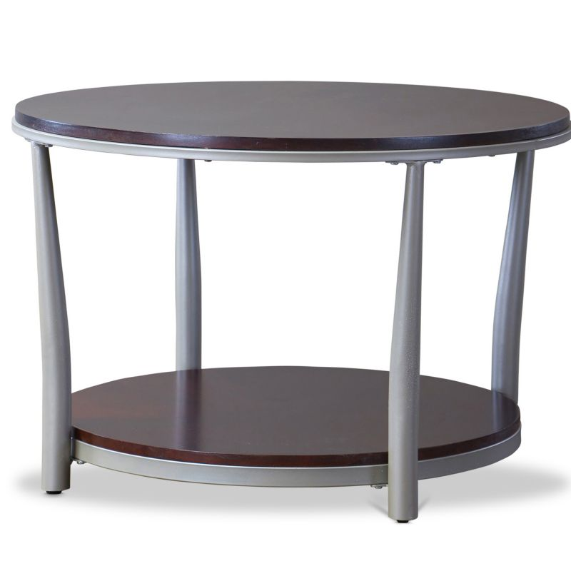 Baxton Studio Halo Coffee Table, Brown