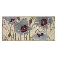 Brumlow Mills Spring Poppy Floral Rug