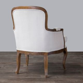 Baxton Studio Napoleon French Accent Chair