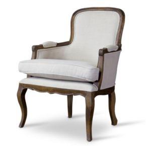 Baxton Studio Napoleon French Accent Chair