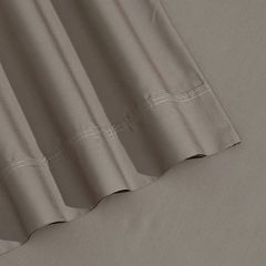 400-Thread Count Egyptian Cotton Percale Deep-Pocket Solid Sheets