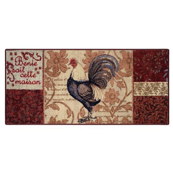 Brumlow Mills Patchwork Rooster Rug