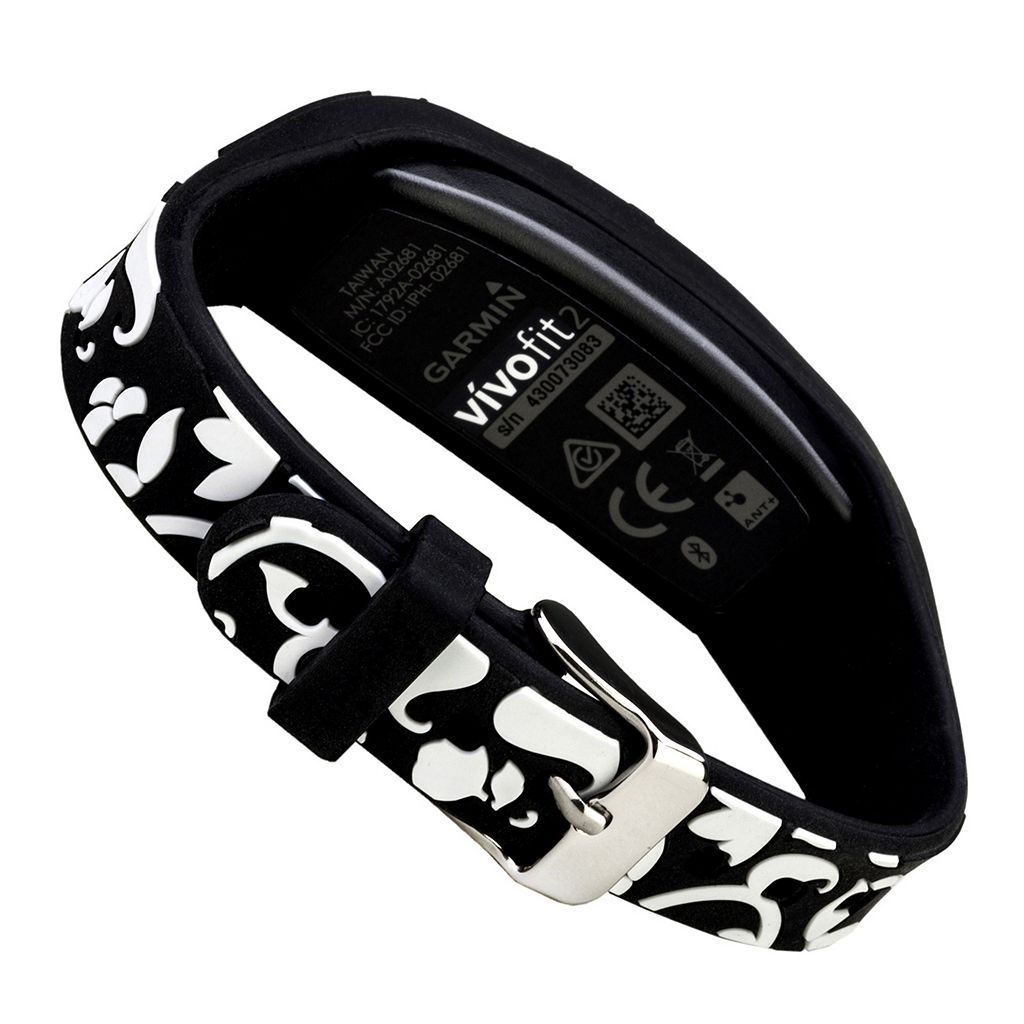 French Bull Garmin Vivofit 2 Accessory Wristband - Black Vines