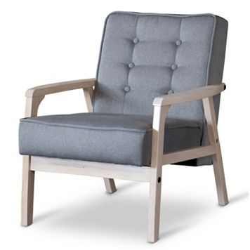 Baxton Studio Mid-Century Timor Club Chair