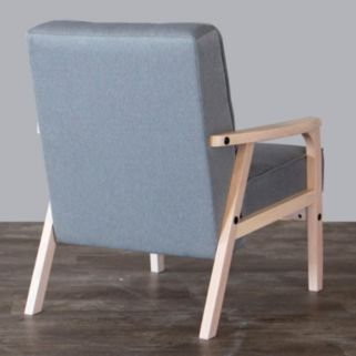 Baxton Studio Mid-Century Timor Club Chair