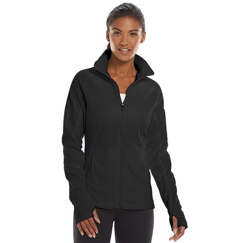 Women's Tek Gear® Microfleece Mockneck Workout Jacket