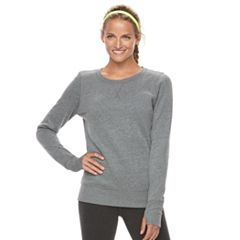 Women's Tek Gear® Fleece Crewneck Sweatshirt