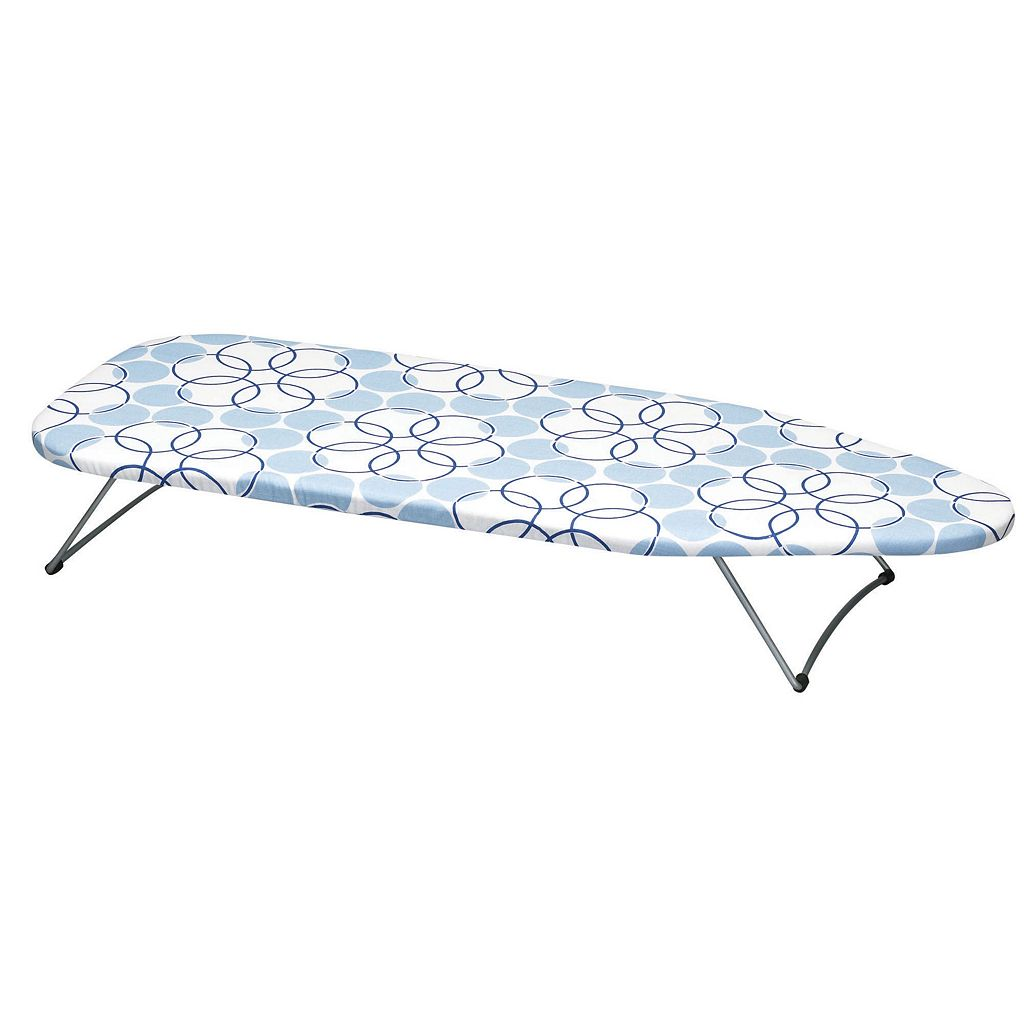 Household Essentials Handy Board Tabletop Ironing Board with Swivel Hanging Hook