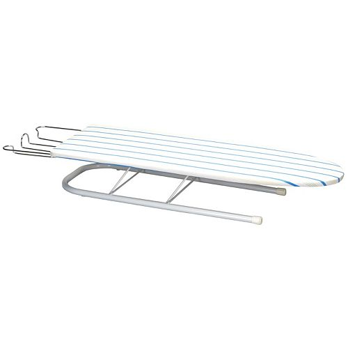 Household Essentials Deluxe Pressboard Tabletop Ironing Board with Iron Rest