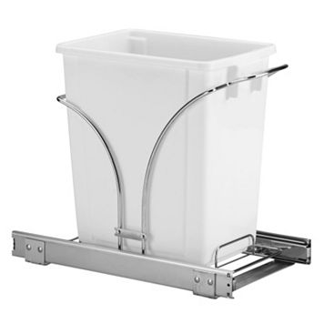 Glidez 2-pc. Under-Cabinet Roll-Out Caddy & 5-Gallon Trash Can Set