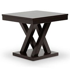 Baxton Studio Everdon Designer End Table