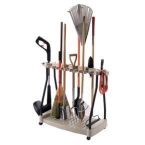 Suncast Wheeled Outdoor Tool Rack