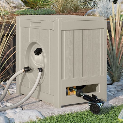 Suncast Aquawinder 125-ft. Automatic Rewind Outdoor Hose Reel