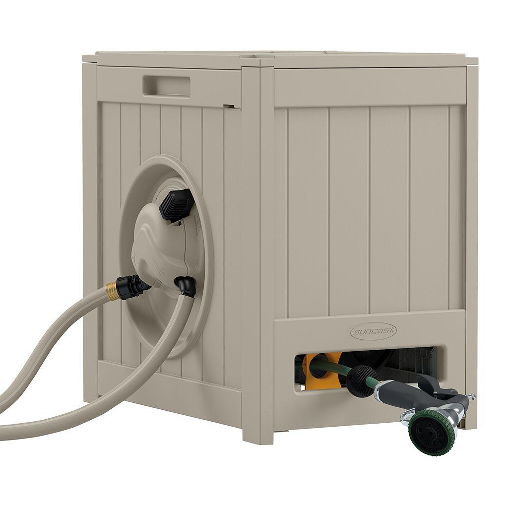 Suncast Aquawinder 125-ft. Automatic Rewind Outdoor Hose Reel