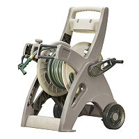 Suncast Slide Trak Hosemobile 175-ft. Outdoor Portable Hose Reel Cart
