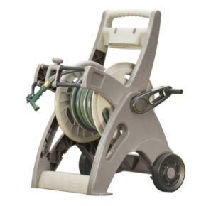 Suncast Slide Trak Hosemobile 175-ft. Outdoor Portable Hose Reel Cart