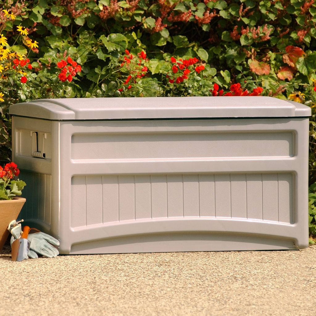 Suncast 73-Gallon Wheeled Deck Box