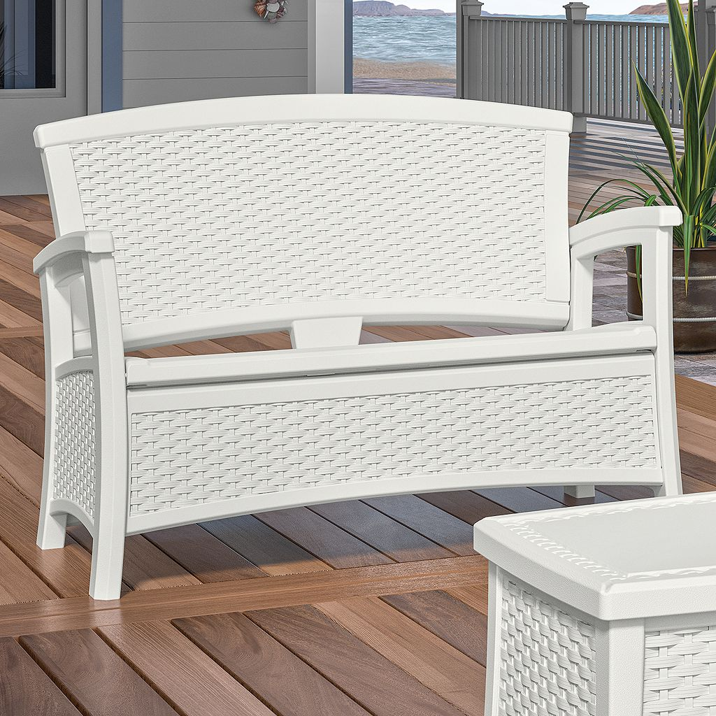Suncast Elements Outdoor Storage Loveseat