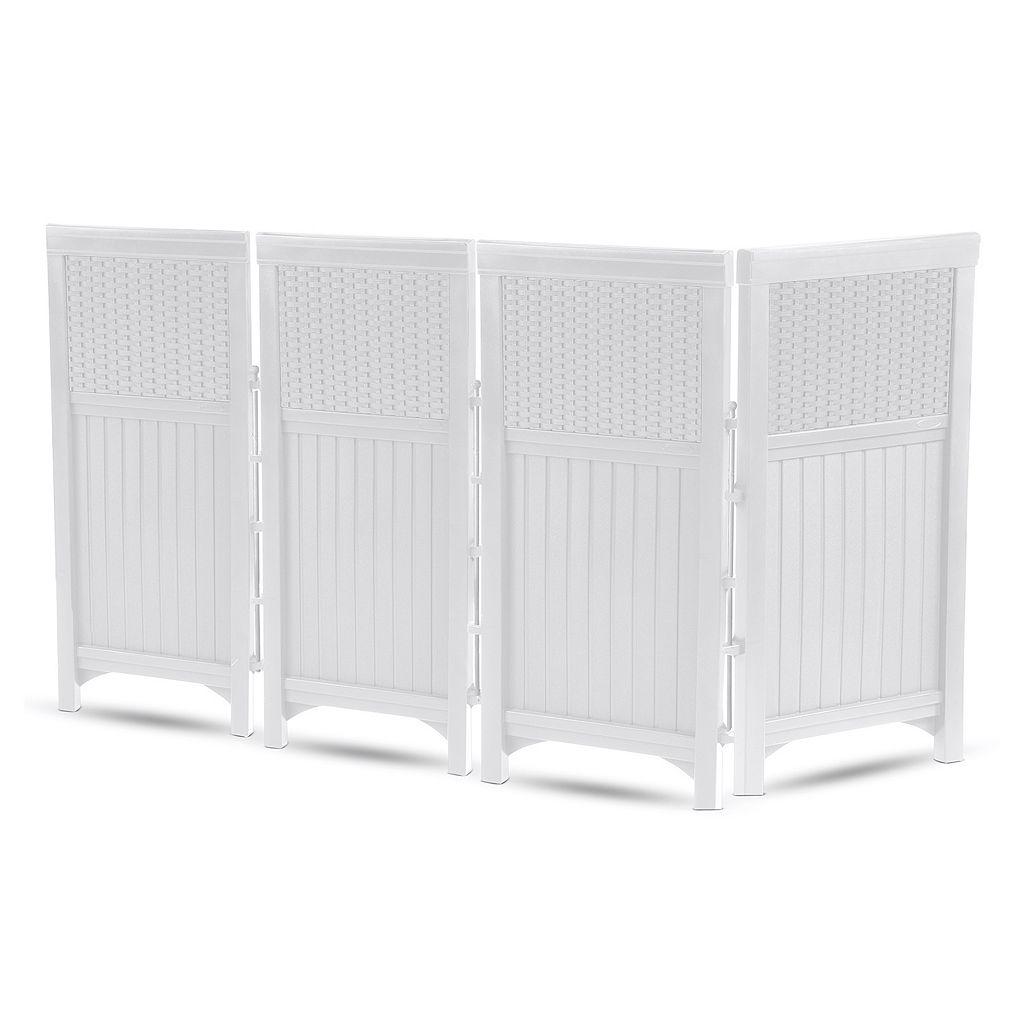 Suncast 4-piece 2' x 3.5' Outdoor Screen Enclosure Set