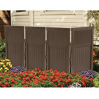 Suncast 4 pc 2' x 3.5' Outdoor Screen Enclosure Set