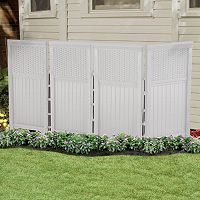 Suncast 4-piece 2' x 3.5' Outdoor Screen Enclosure Set