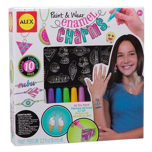 ALEX Paint & Wear Enamel Charms
