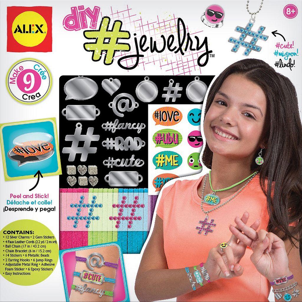 ALEX DIY Hashtag Jewelry