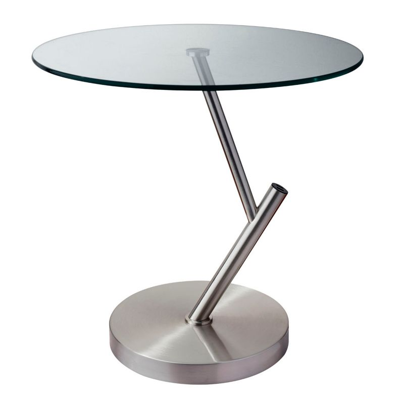 Adesso Pulse USB End Table, Grey Other