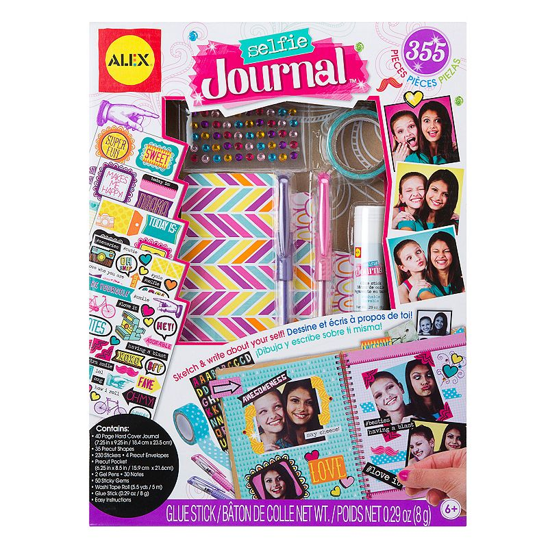 Toys You Should Get : Upc alex toys craft selfie journal lookup