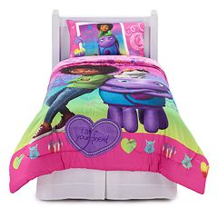 DreamWorks Home BFF Forever 4 pc Reversible Bed Set - Twin