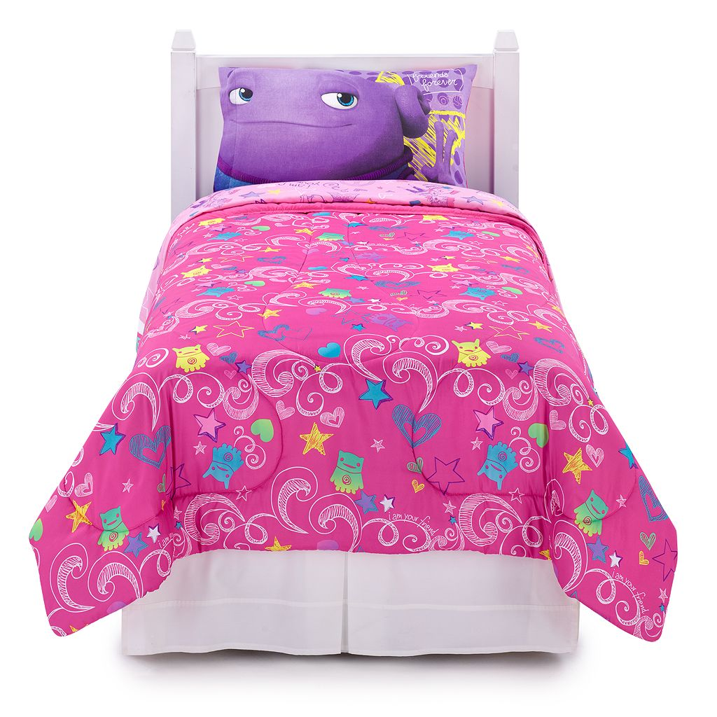 DreamWorks Home BFF Forever 4-pc. Reversible Bed Set - Twin