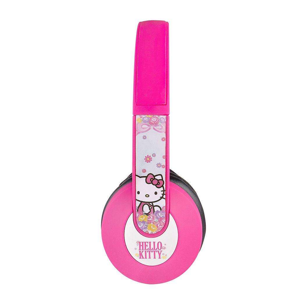 Hello Kitty Kids' Bluetooth Character Headphones by Sakar