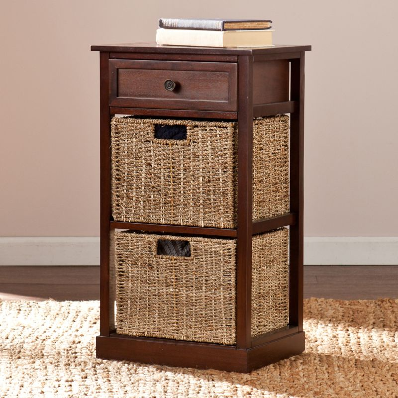 Colton 2-Basket Storage End Table, Other Clrs
