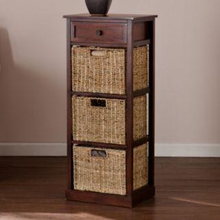 Colton 3-Basket Storage Table