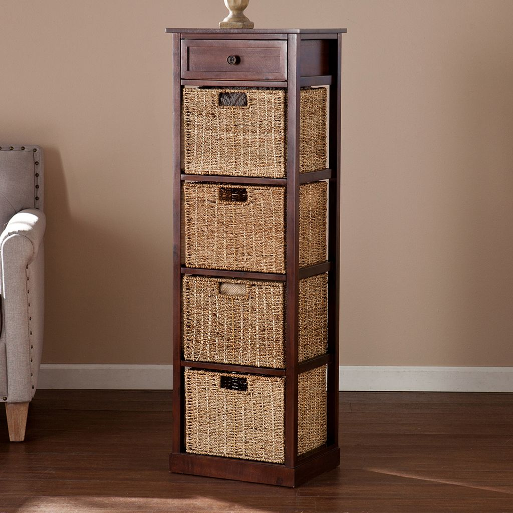 Colton 4-Basket Storage Tower