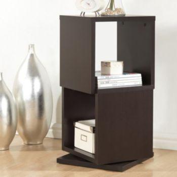 Baxton Studio Ogden Designer 2-Shelf Bookcase