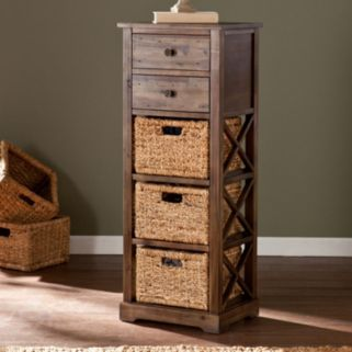 Kivlen 3-Basket Storage Tower